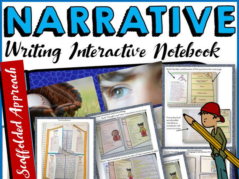 NARRATIVE WRITING: INTERACTIVE NOTEBOOK