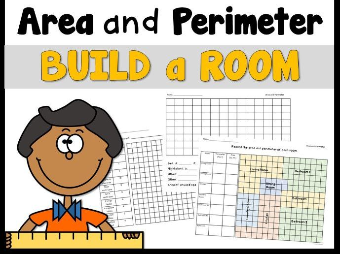 Area and Perimeter Build A Room