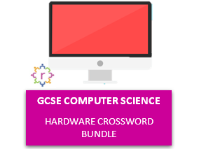 GCSE Computer Science - Hardware Crossword Bundle (with answers)