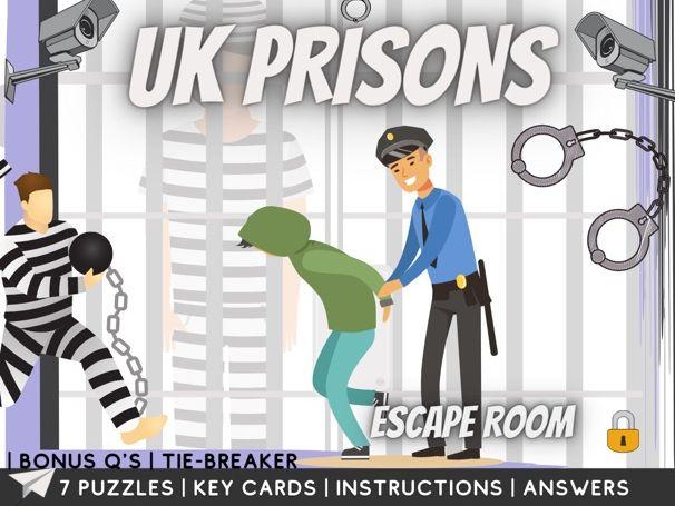 Prisons and Parole Escape Room