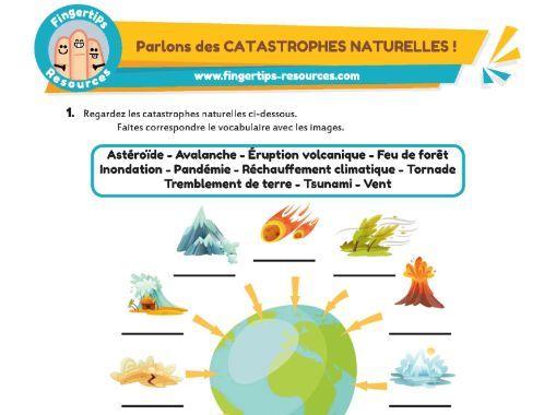 Parlons des CATASTROPHES NATURELLES !