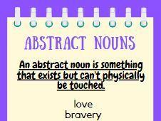 Nouns Display Poster