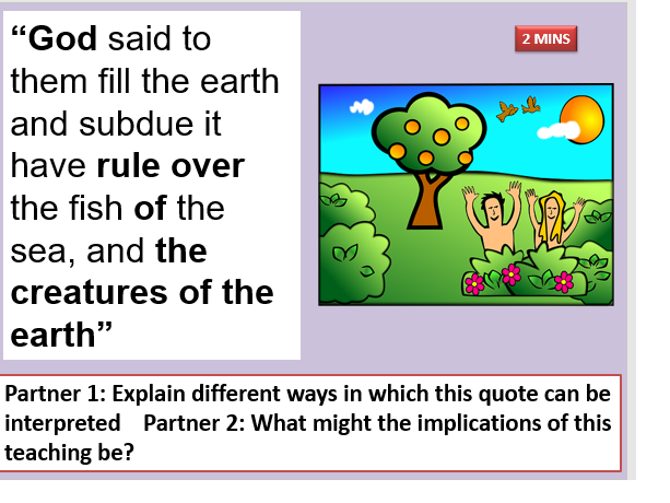 Value and Abuse of the Environment AQA THEME B
