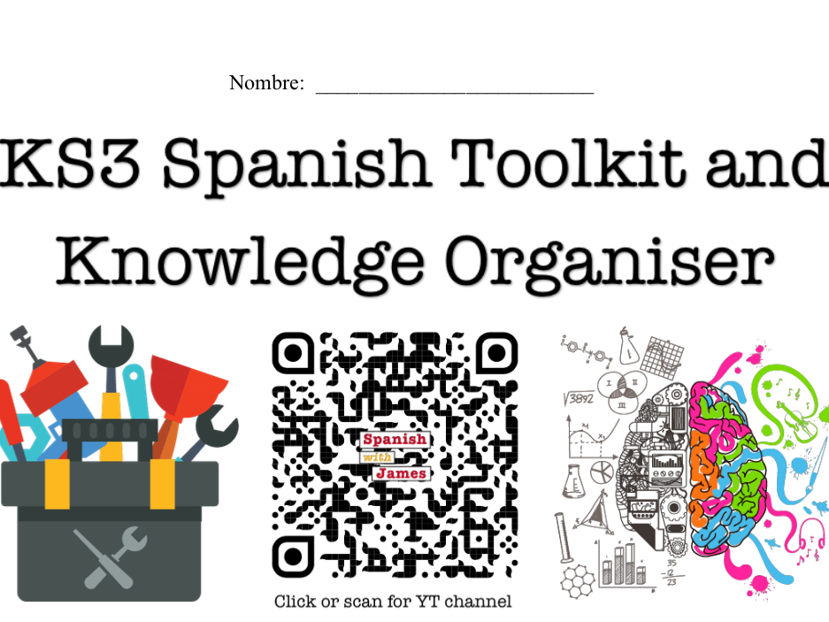 KS3 Spanish Toolkit and Knowledge Organiser