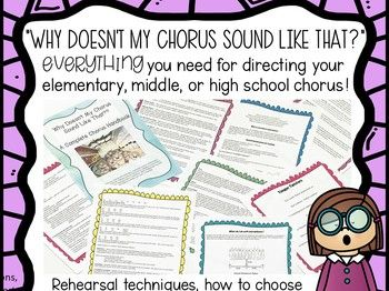 Complete Chorus Lesson Plans and Handbook