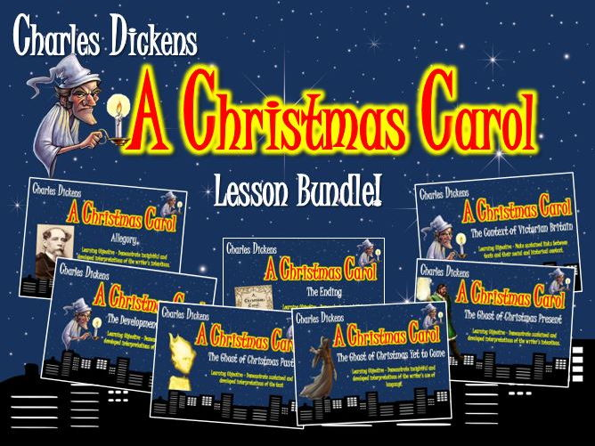 A Christmas Carol Lesson Bundle!