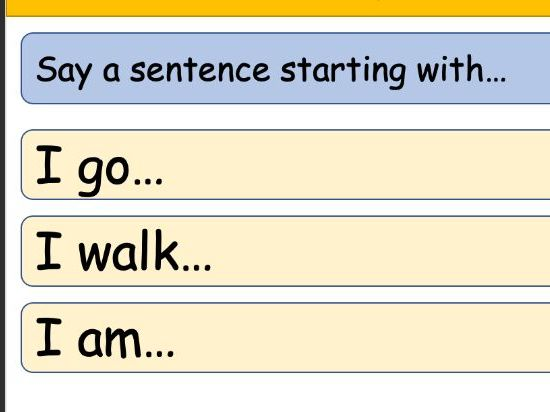 Lesson PowerPoint for Revising Grammar