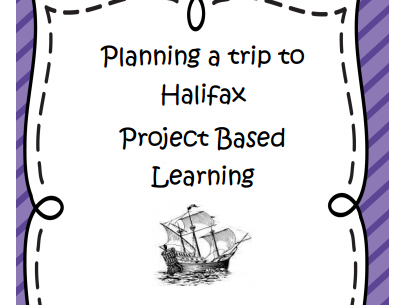 Math Project Based Learning Trip to Nova Scotia