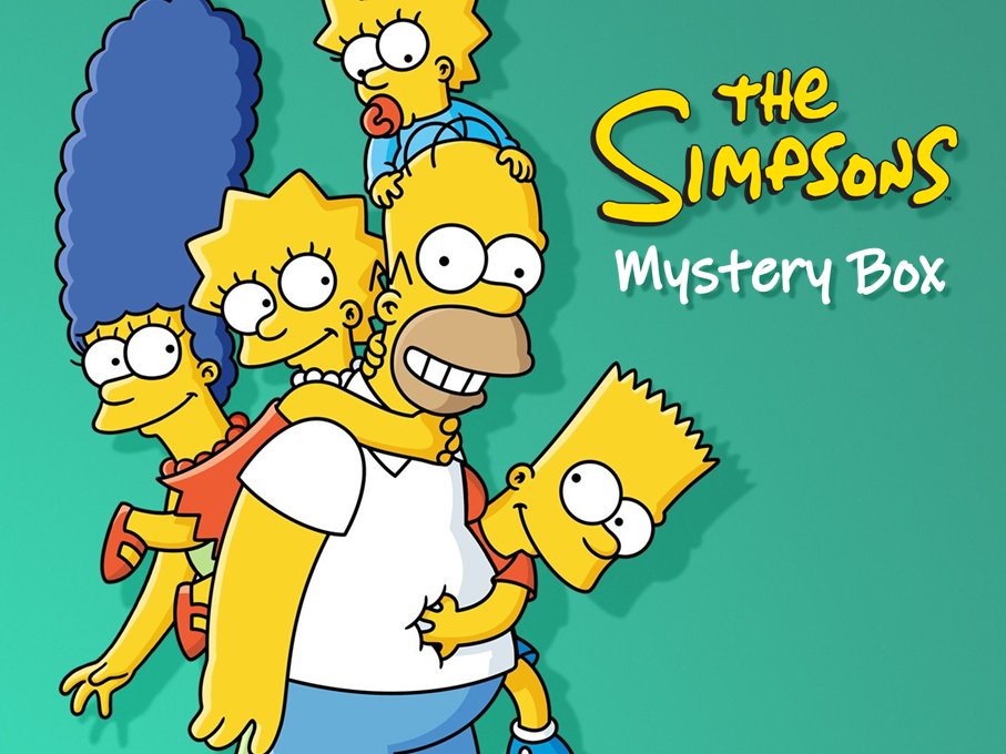 Simpsons Mystery Box PowerPoint Game