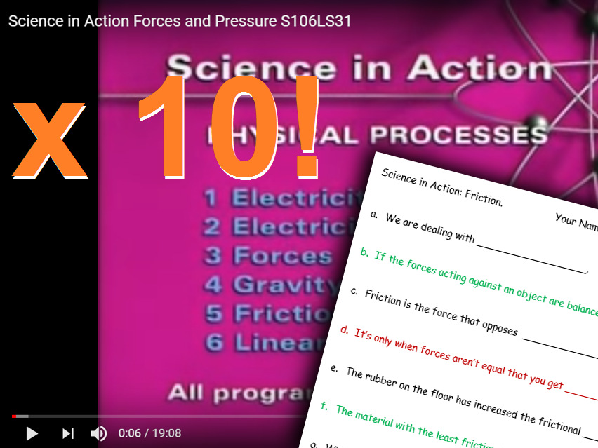 KS3 Physics 10 X Video Bundle! Scientific In Action with Stella and Femi