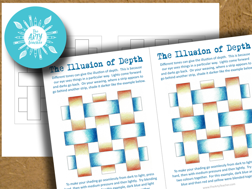 Woven Shading Task – The Illusion of Depth