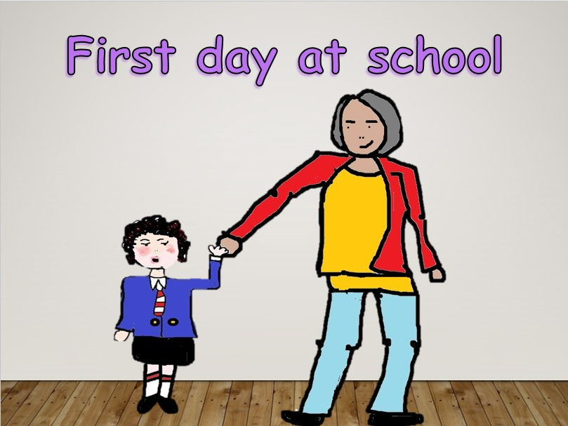 First day at school- a song for early years in video PPT Mp3s