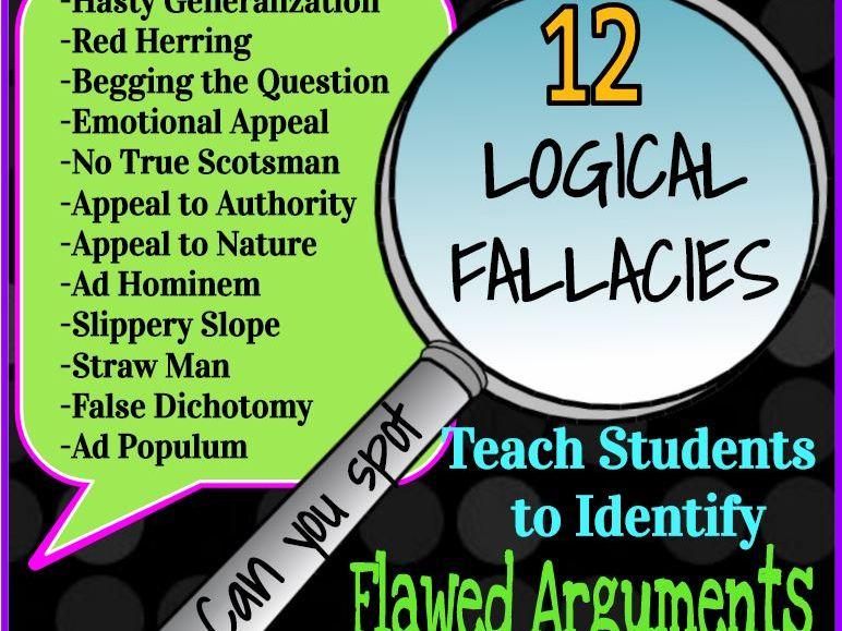 Logical Fallacies: Identifying 12 Flawed Arguments