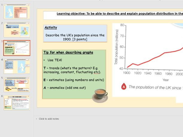 L1 - UK population distribution - (Urban Change UK) [ AQA GCSE geography new spec]