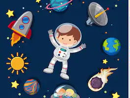 Space topic Literacy plans