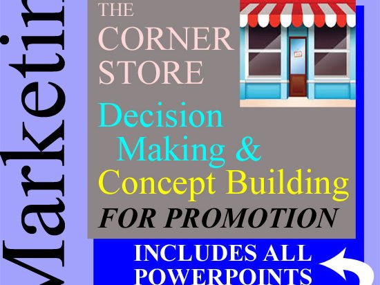 Marketing 2-Week Outline Lesson Plan  > Project - Activity & Store Promotion + 4 PowerPoints