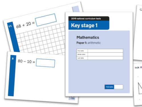 KS1 Maths Question Level Analysis Tool - 2019