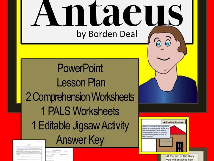 Antaeus | Teaching Resources