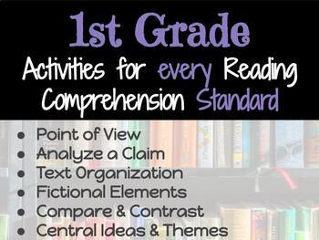 Activities for Every Reading Comprehension Standard: 1st Grade