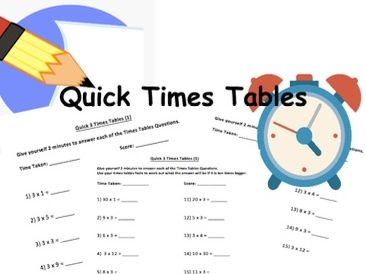 Mathematics: Quick Times Tables - 2s, 3s and 5s (KS1 and KS2)