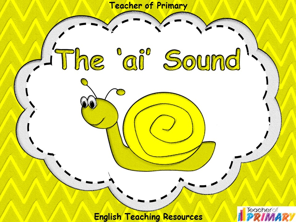 The 'ai' Sound