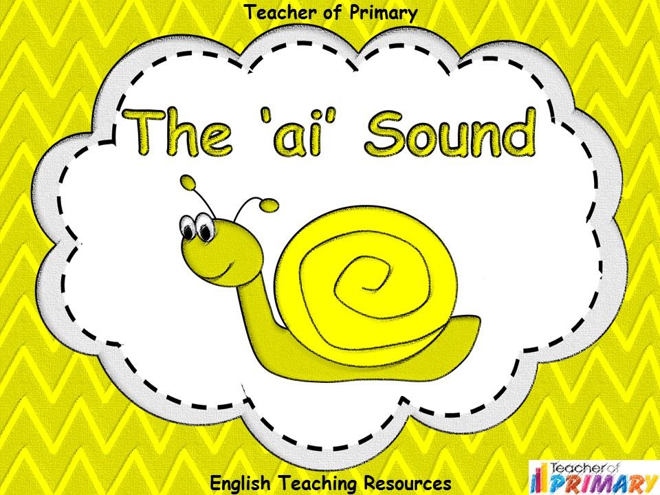 The 'ai' Sound