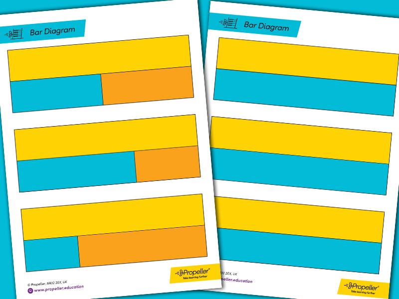 Bar Diagram Templates | CALCULATION