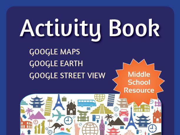 Massive Google Maps ACTIVITY BOOK **400 Plus Pages**