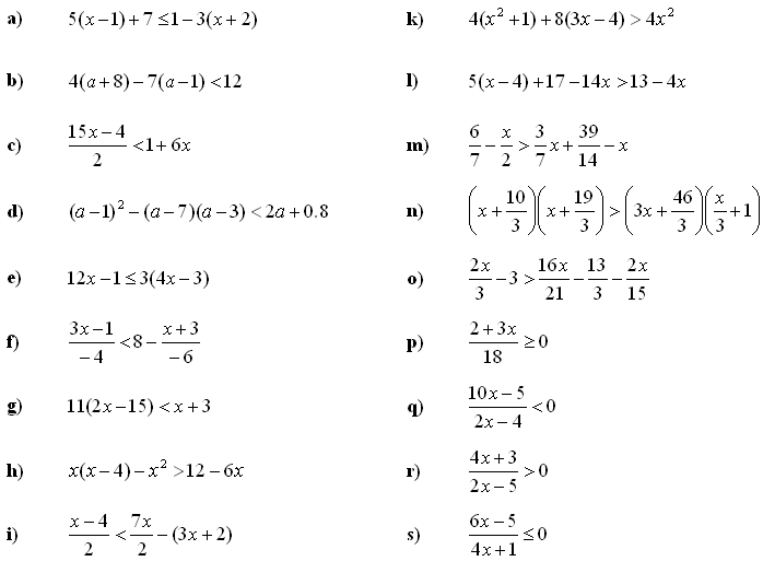 Edexcel A-Level Pure Maths Chapter 3 Equations and inequalities