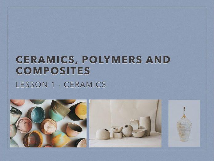 Ceramics, Polymers and Composites Bundle - KS3