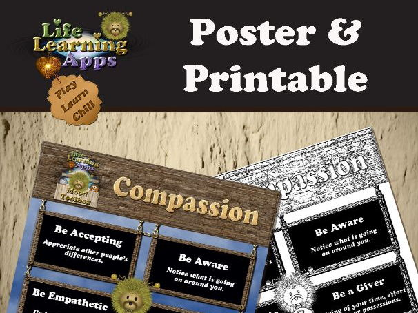 Poster: Strategies for Compassion
