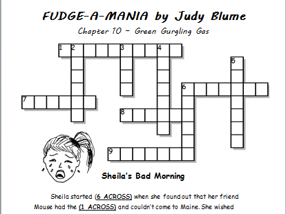 Fudge-A-Mania - Printable Handouts for Each Chapter