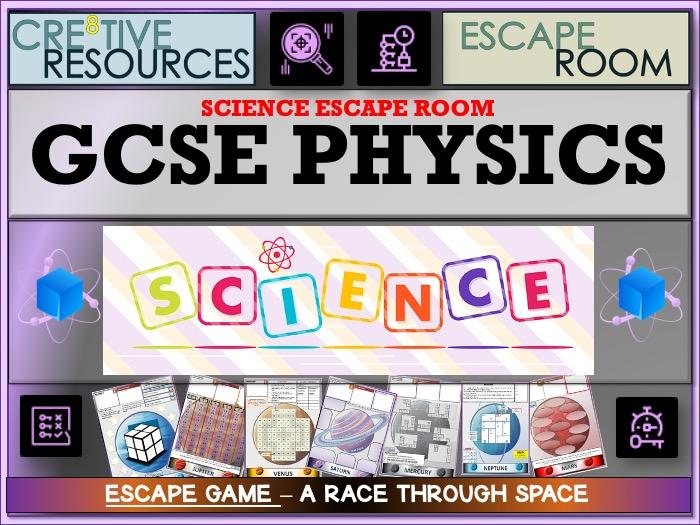 GCSE Physics Revision Escape Room