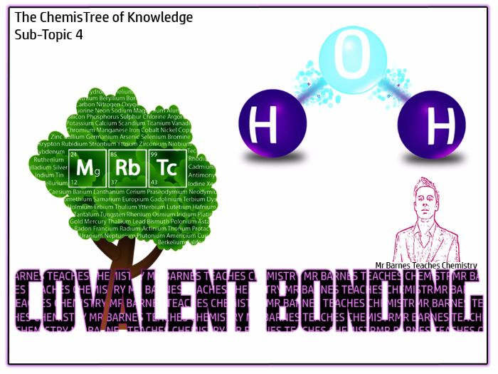 Covalent Bonding Powerpoint and Workbook - GCSE 2016