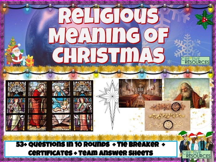 Christmas Quiz - Religious Meaning