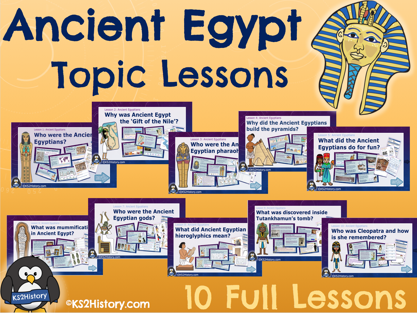 Ancient Egypt: Lessons