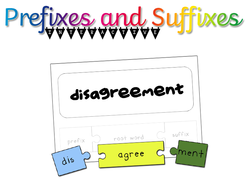Prefixes and Suffixes - Interactive Pack!