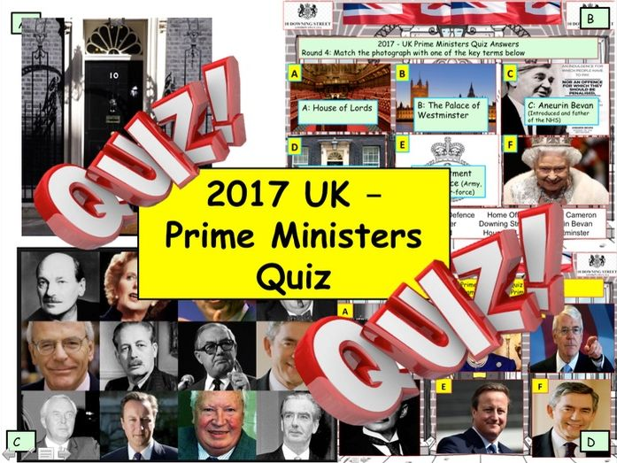 UK Prime Minister Quiz 2018