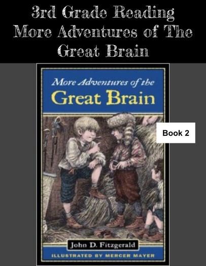 More Adventures of the Great Brain: The Great Brain- Book 2