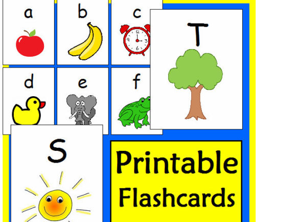 ALPHABET FLASHCARDS EYFS RESOURCES