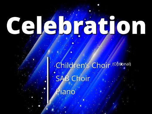 Celebration (Piano/Vocal Score)