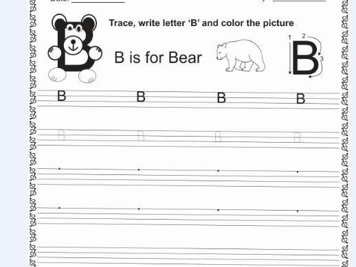 Lets Learn Letter B