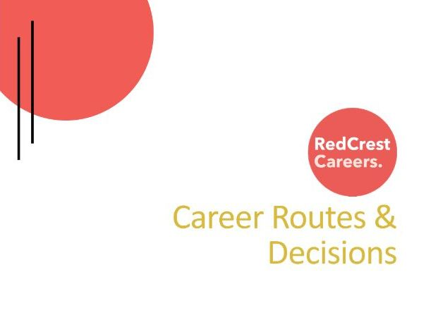Career Routes & Decisions - PSHE/Careers
