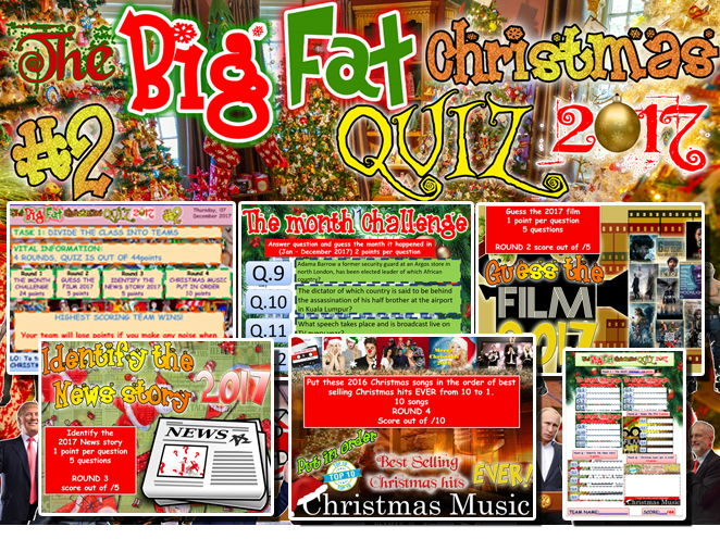 Christmas Fun 'The Big Fat Christmas Quiz 2017' #2