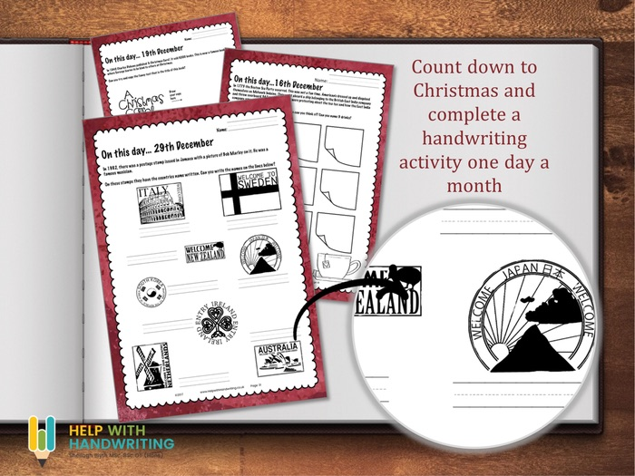 December Handwriting Workbook