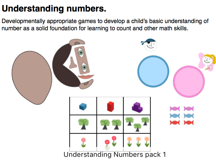 Understanding Numbers Pack - For children working towards counting out 3  from a larger group.