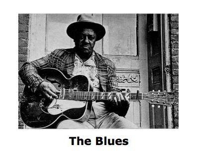 Blues Music - Whole Unit & Booklet