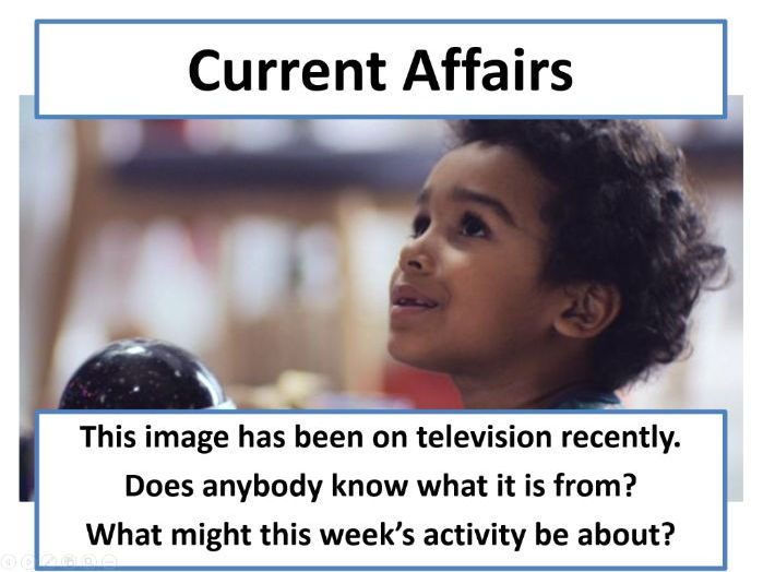Current Affairs Form Time Activity - Christmas Adverts