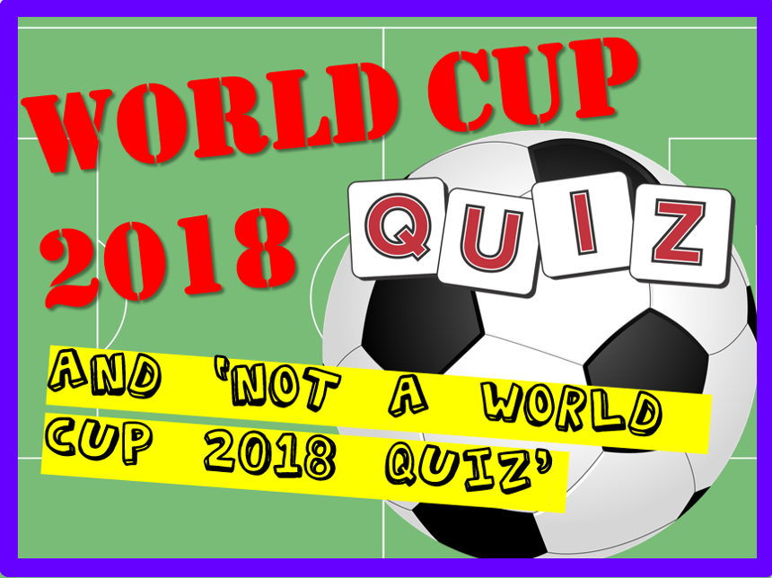 World Cup / No World Cup Quiz