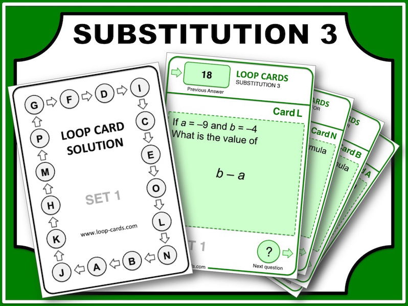 Loop Card Races (Substitution 3)